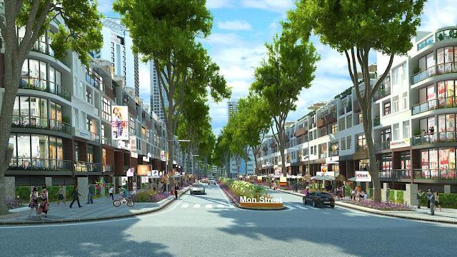 Nhà phố thương mại - liền kề Mon City