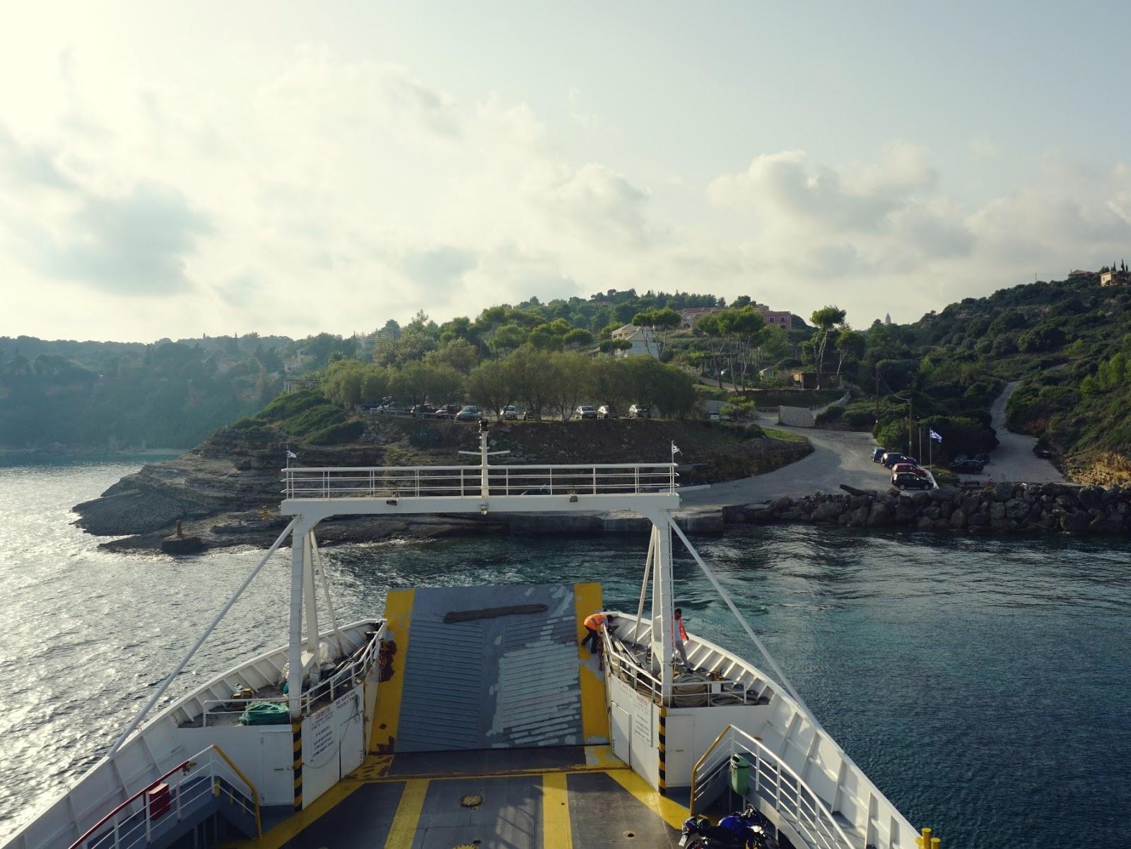 Kefalonia, Pessada, port, wyspa, Grecja, wyspy Jońskie, na morzu, na okręcie, fotografia podróżnicza, panidorcia, pani dorcia, blog o Islandii, blog o podróżach