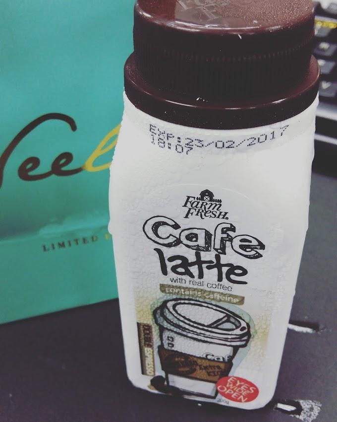 Cafe Latte dari Farm Fresh  - Susu yang penuh rasa kopi