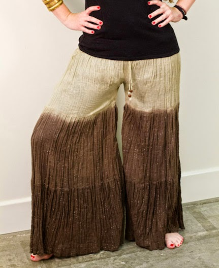 convertir pantalon palazzo en vestido