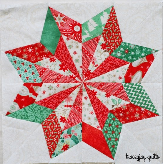Paper Pieced Christmas Tree Pattern: Sew Lux Fabric : Blog: Christmas In July