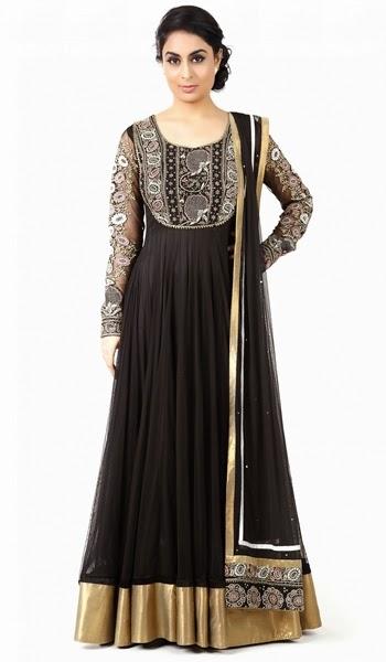 Ankle Length Long Anarkali Suit