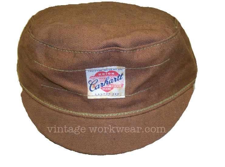 e5ef65b2b vintage workwear: 1940's Era Carhartt UNION MADE SANFORIZED Brown ...
