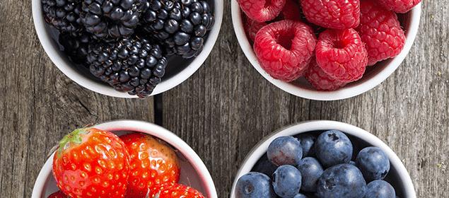frutos del bosque para reducir el colesterol