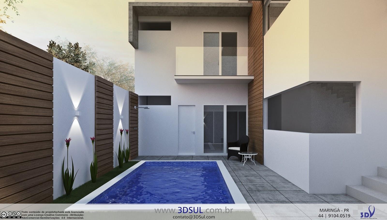 3dsul maquete eletr nica 3d projeto arquitetonico 3d for Casa moderna 2015 orari