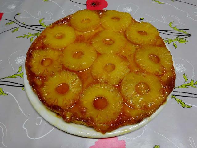 dessert pâtisserie tarte tatin ananas galette sucrée