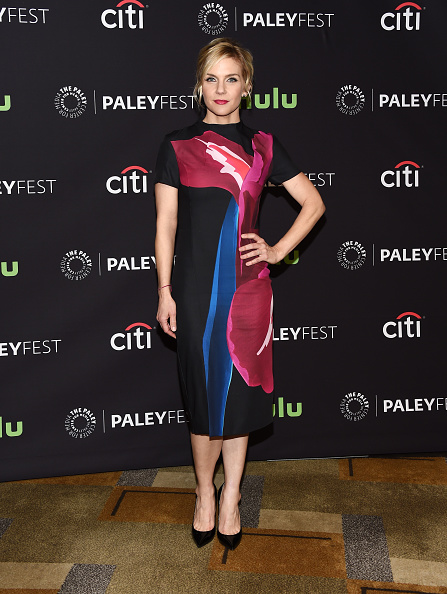 Rhea Seehorn Wears Parade Jewelry