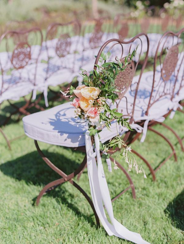 silla de forja ceremonia boda chicanddeco