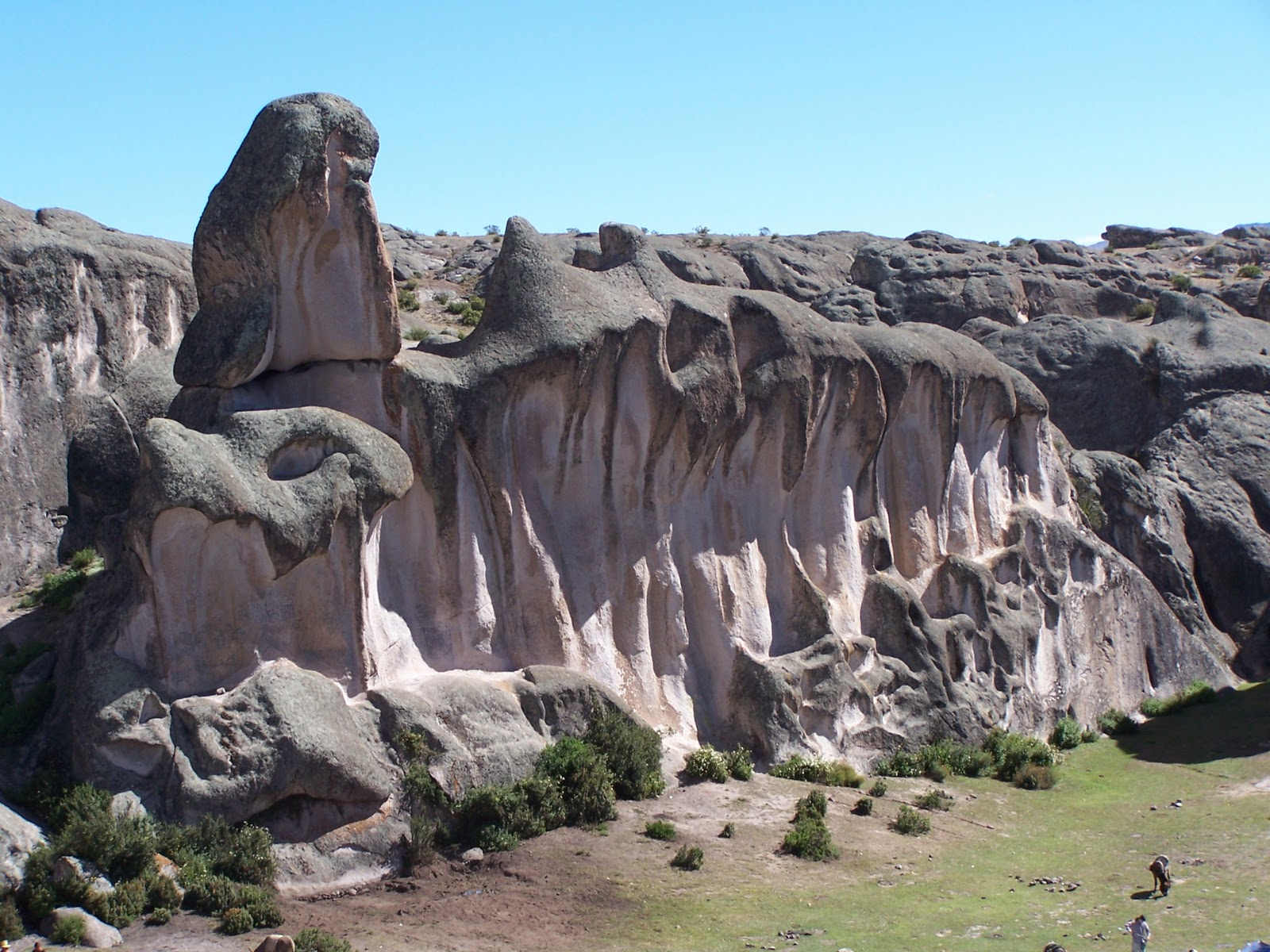 Markawasi Stone Forest Time Travel