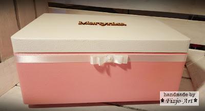 Pudełko drewniane dla Martynki