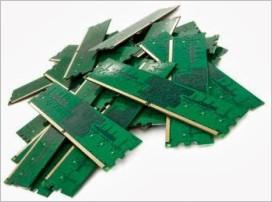 Несколько планок оперативной памяти компьютера