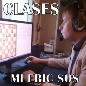 Clases de ajedrez online con el MI Eric Sos