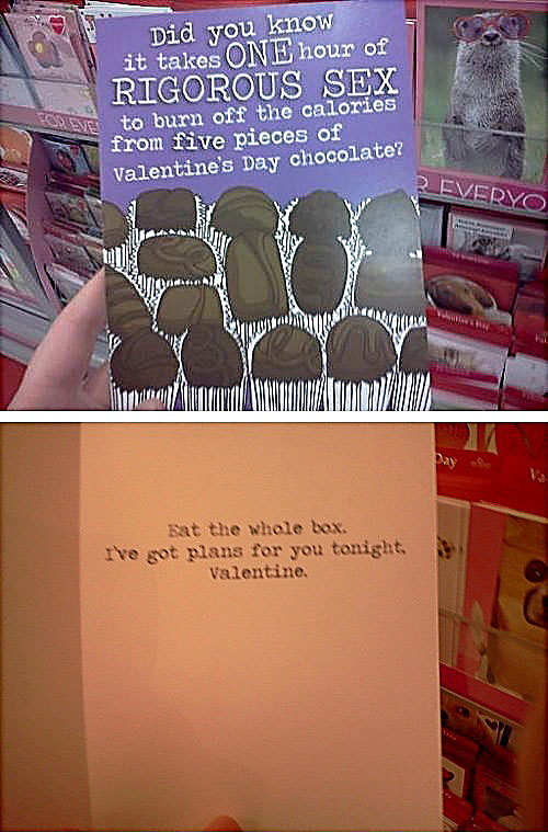 valentines day card win