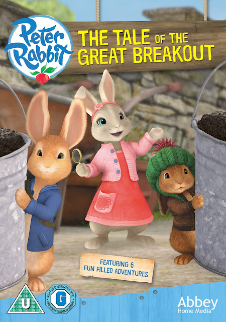 The Tale of the Great Breakout Peter Rabbit DVD cover