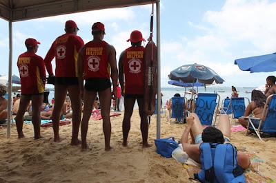 Corpo de Bombeiros  dá dicas para segurança nas praias