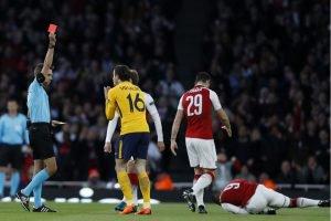 Arsenal vs Atletico Madrid: Griezmann grabs away goal for Simeone's men