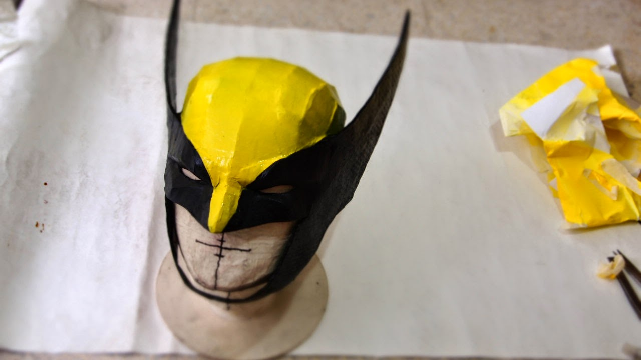 How To Cosplay Wolverine With Homemade Costume Mask