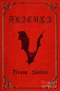DRACULA - BOOK COVER