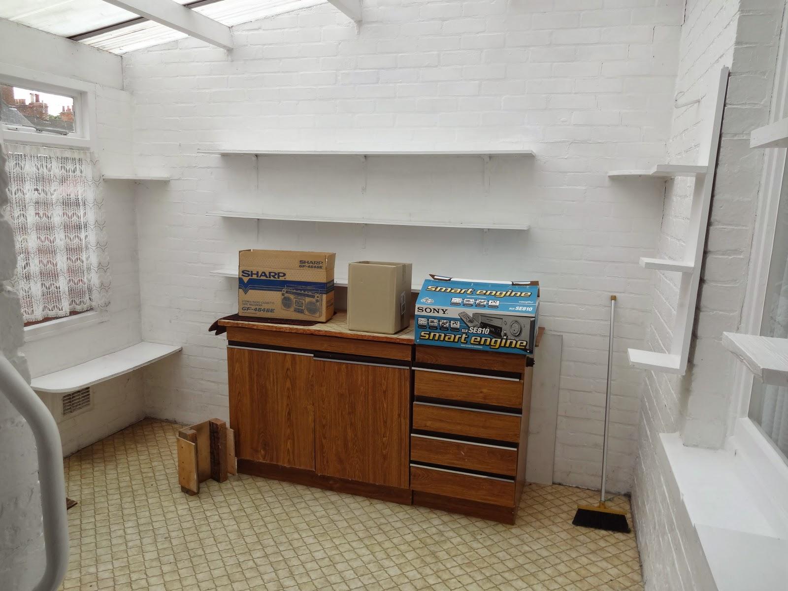 retro conservatory lean to