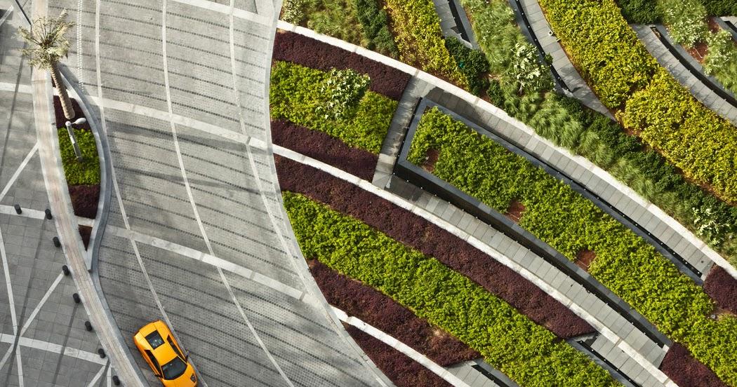 Paisajismo en la torre Burj Khalifa - SWA Group - Blog y Arquitectura