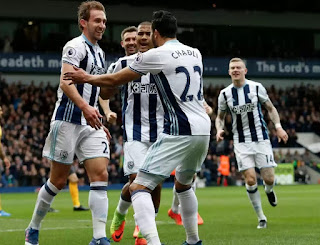 Baggies stun Arsenal