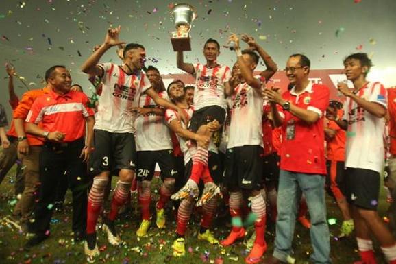 Redam Bali United, Persija Jakarta keluar sebagai Kampiun Trofeo 2016, Sabtu (9/4/2016)