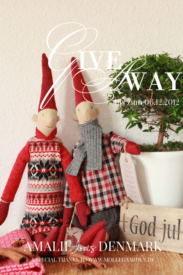 Amalie loves Denmark GIVE AWAY Maileg Weihnachtswichtel 2012