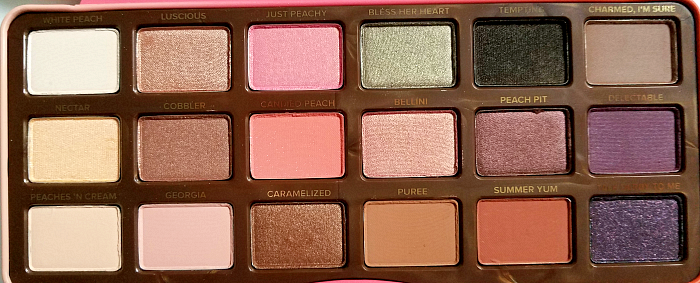 Review & Swatches: Too Faced - Sweet Peach Eyeshadow Palette - Madame Keke