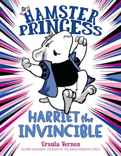 Hamster Princess by Ursula Vernon book cover graphic novel