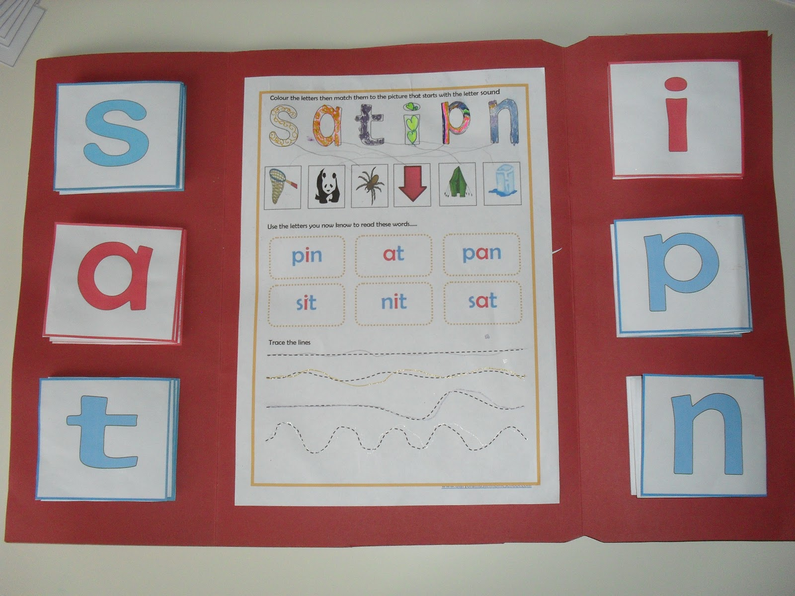 A Muslim Homeschool Jolly Phonics Lapbook With A Montessori Twist