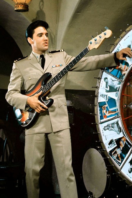 A Few Targeted Thoughts Elvis Presley The Secret Bass