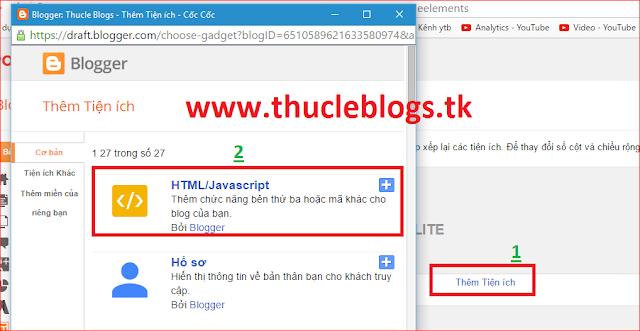 Hướng dẫn tạo tiện ích nhận xét mới nhất cho blogger