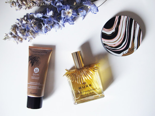 Nuxe, Guerlain, Bronze & Glow de Lancôme tono 01 It´s Time To Glow!