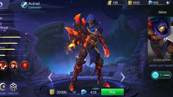 Review Hero Baru Aulrad Mobile Legend - RIP Marksman
