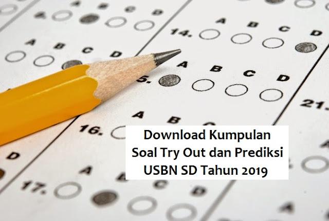 Soal Try out dan soal prediksi USBN SD 2019