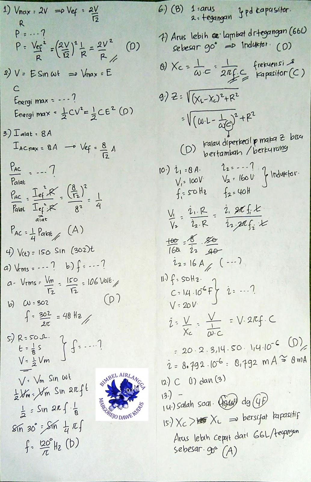 Kunci Jawaban Fisika XII Marthen Kanginan Kurikulum 2013