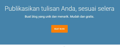 Cara Membuat Blog di Blogger plus Setting SEO Standar