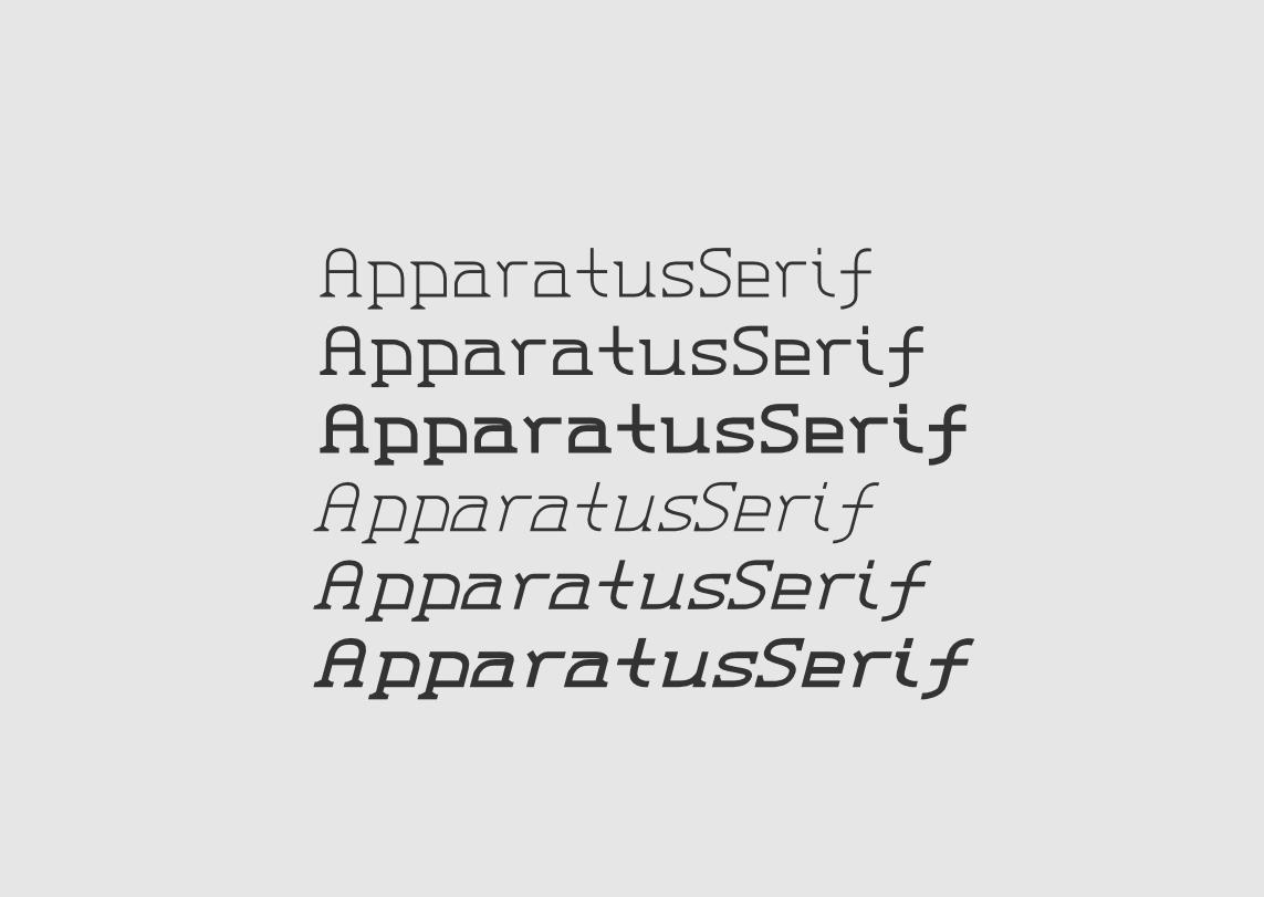 PVF Apparatus Serif #Free Style #Opentype #Greek #Font