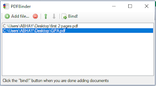 Merge PDF files Offline or PDF merge Online