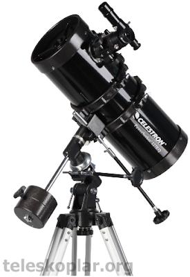 celestron powerseeker 127eq teleskopu