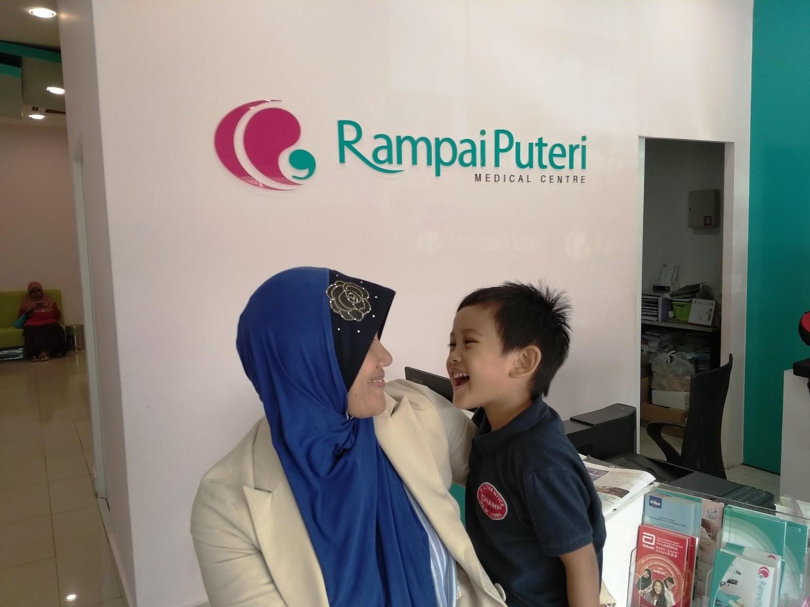 Pengalaman Bawa Anak Check Up di Rampai Puteri Medical Centre