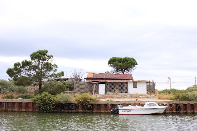Port-la-nouvelle, canal, vacances en camion, vintage
