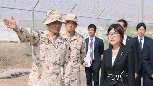 Japón amplía su base militar en África para contrarrestar a China