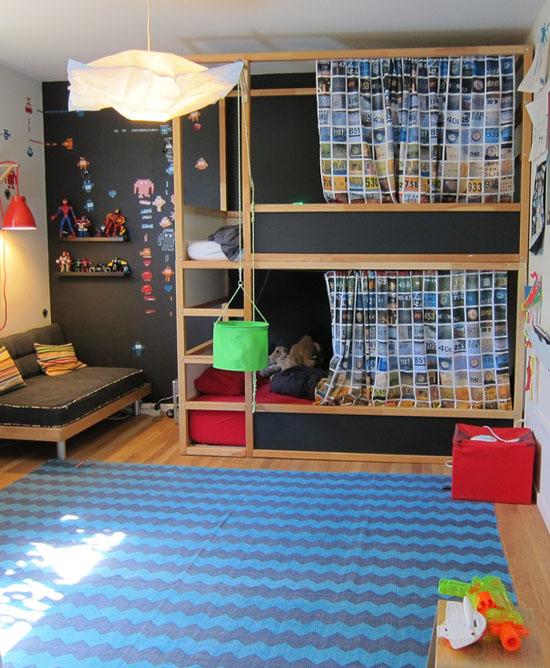 Letto A Castello Ikea Kura.Mommo Design Kura Bed Makeover
