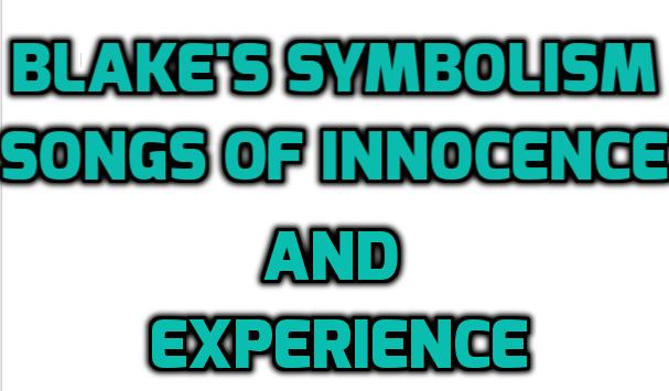 Blake's Symbolism