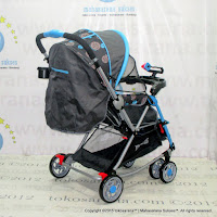 Kereta Bayi Does DS298 Navigator Rocker Blue