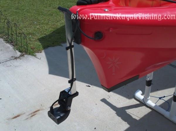 Palmetto Kayak Fishing DIY Kayak Transducer Arm for the