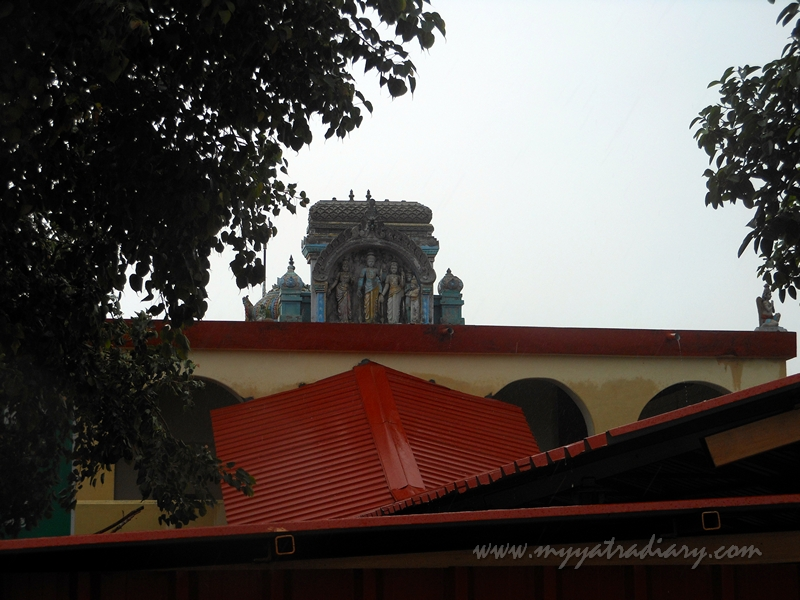 View of Rama Temple at Gandamadana Parvatham, Rameshwaram