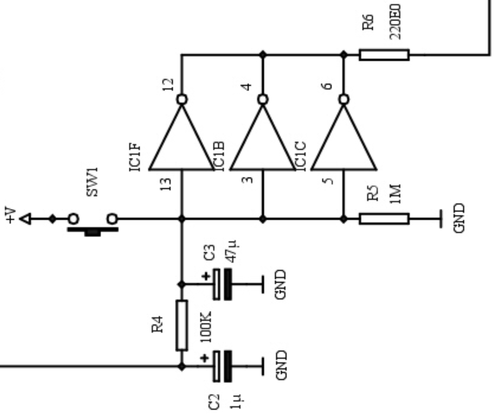 Glenn K Lockwood Learning Electronics With Roulette Datasheets Here Is The Circuit Schematic For Demonstration Board Aside From Cd4017be Decade Counter This Really Has Two Distinct Sections First Section Handles Input