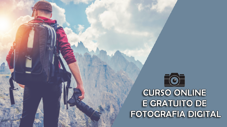 Curso online e gratuito de Fotografia Digital